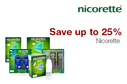 Nicorette Save up to 25%