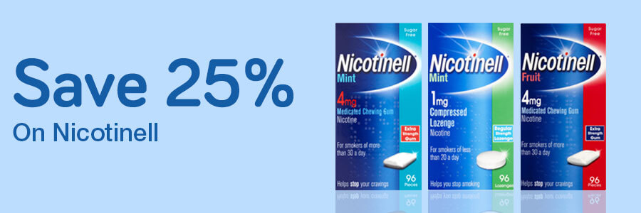 25% Off Nicotinell