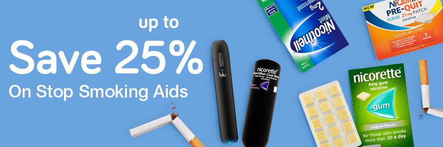 25% Off Stop Smoking