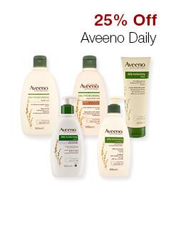 25% Off Aveeno Daily