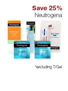 Save 25% Neutrogena*