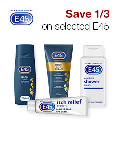 Save 1/3 on selected E45