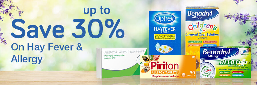 30% Off Hay Fever