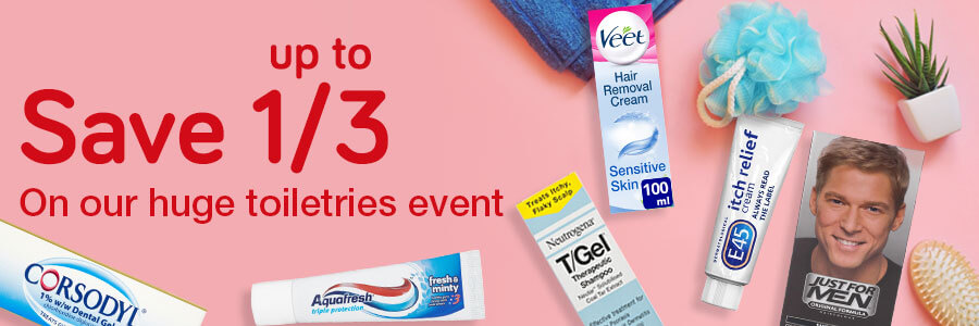 Huge Toiletries Event