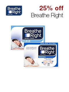25% off Breathe Right