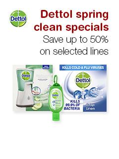 Dettol spring clean specials