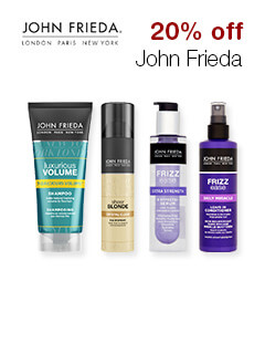 20% off John Frieda
