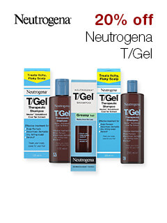 20% off Neutrogena T/Gel
