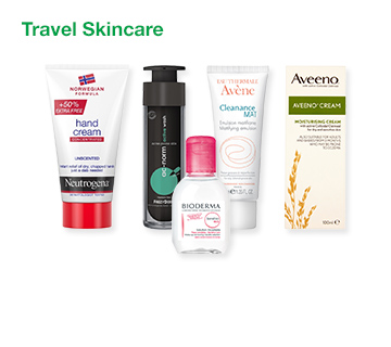 Travel Skincare