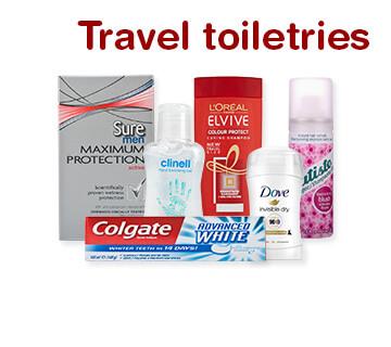 TRAVEL TOILETRIES