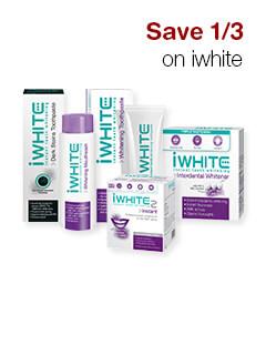Save 1/3 on iwhite