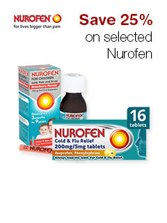 Save 25% on selected Nurofen