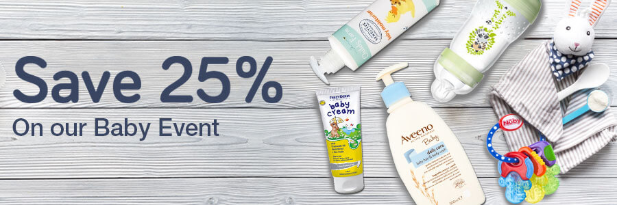 Save 25% Baby Event
