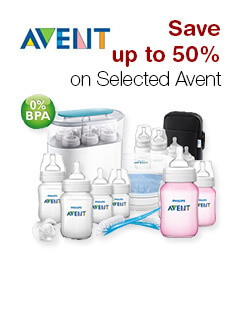 Save up to 50% on Selected Avent
