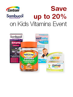 Save up to 20% on Kids Vitamins Event