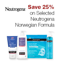 Save 25% on Selected Neutrogena Norwegian Formula