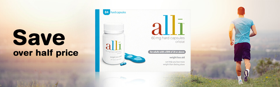 Save over half price on Alli