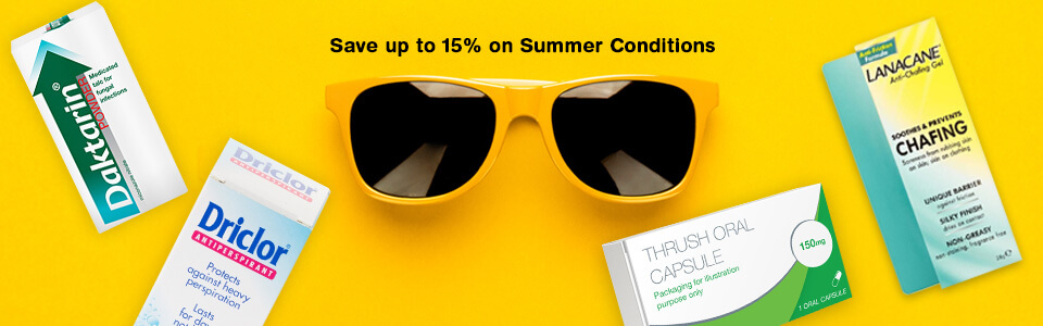 Save up to 15% Off Summer Conditions