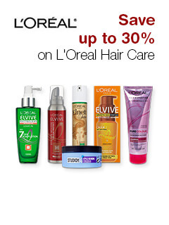 Save up to 30% on L'Oreal Hair Care