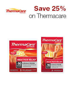 Save 25% on Thermacare