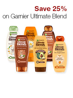 Save 25% on Garnier Ultimate Blend