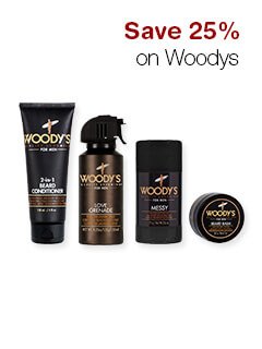 Save 25% on Woodys