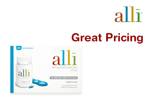 Alli - Great Pricing