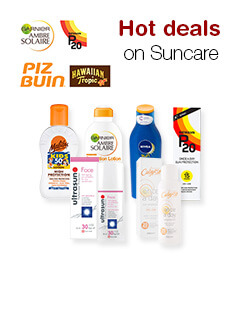 Hot deals on Suncare