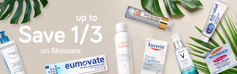 Save up to 1/3 on Skincare