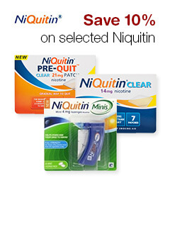 Save 10% on selected Niquitin