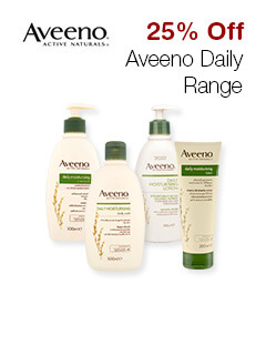 25% Off Aveeno Daily Range