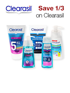 Save 1/3 on Clearasil