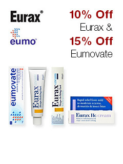 10% Off Eurax & 15% Off Eumovate