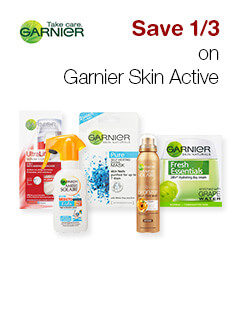 Save 1/3rd on Garnier Skin Active