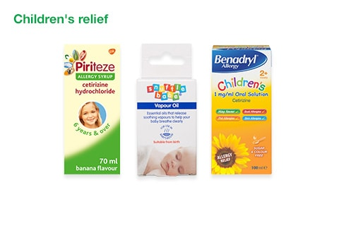 Children's relief