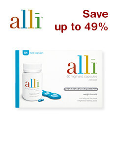 Save up to 49% Alli