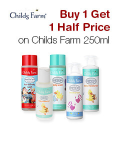 Buy 1 Get 1 Half Price on Childs Farm 250ml