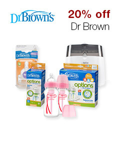 20% off Dr Brown