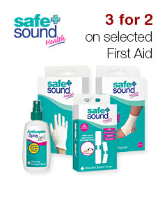 3 for 2 on selected First Aid