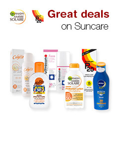 Great deals on Suncare