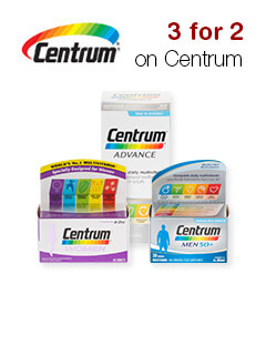 3 for 2 on Centrum