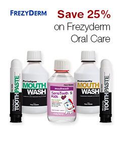 Save 25% on Frezyderm Oral Care