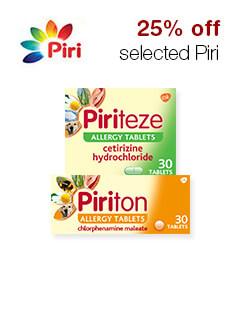 25% off selected Piri