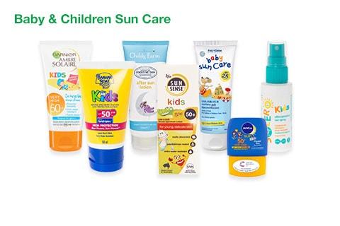 Baby & Children's Sun Care
