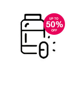 Save up to 50% on Vitamins