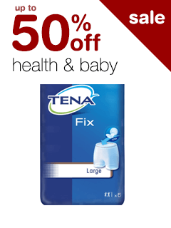 up to 50% off Health & Baby