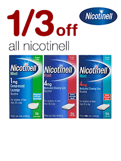 1/3 off all Nicotinell