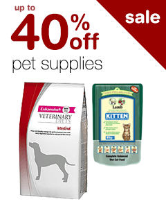 up to 40% off Pet