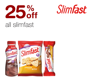 25% off all Slimfast