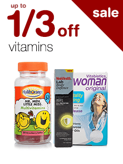 up to 1/3 off Vitamins